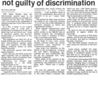 Inquiry Finds Bible Studies Not Guilty of Discrimination