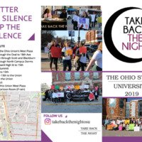 Take Back the Night March Pamphlet